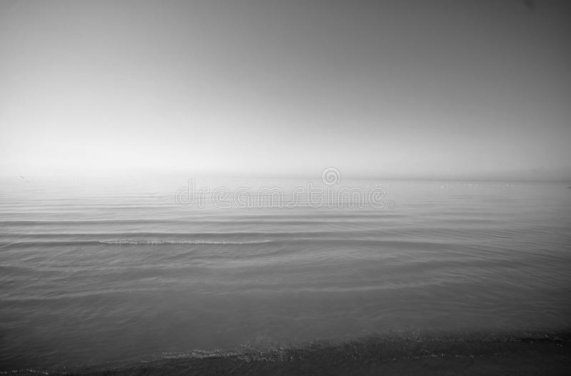 Plage d'Erie images stock