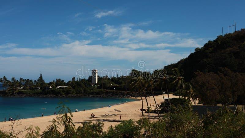 Plage d'Hawaï photographie stock