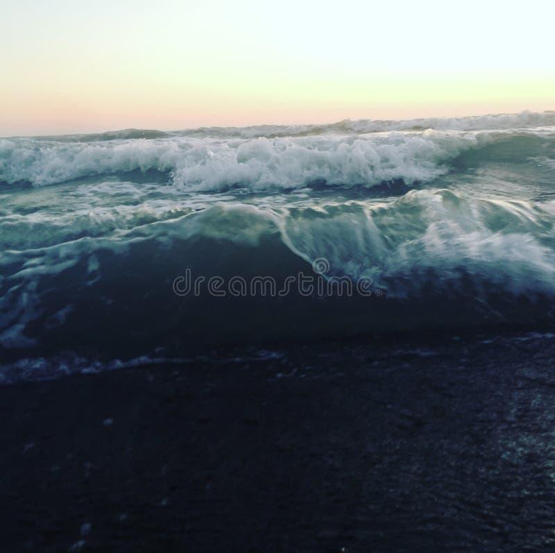 Plage d'océan images libres de droits
