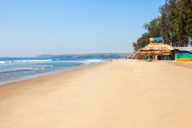 Plage dans Goa, Inde photo stock