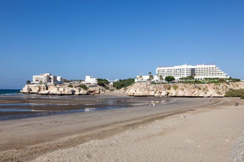 Plage dans Muscat, Oman photo libre de droits