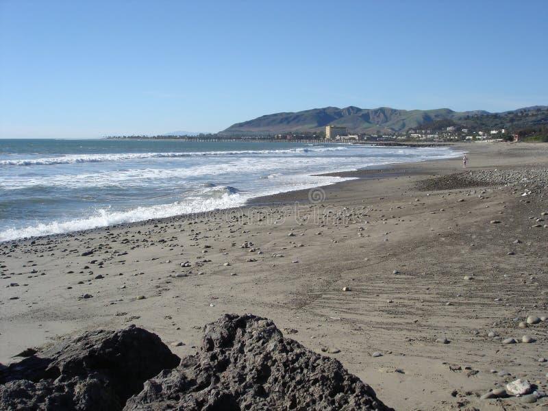 Plage dans Ventura, CA images libres de droits