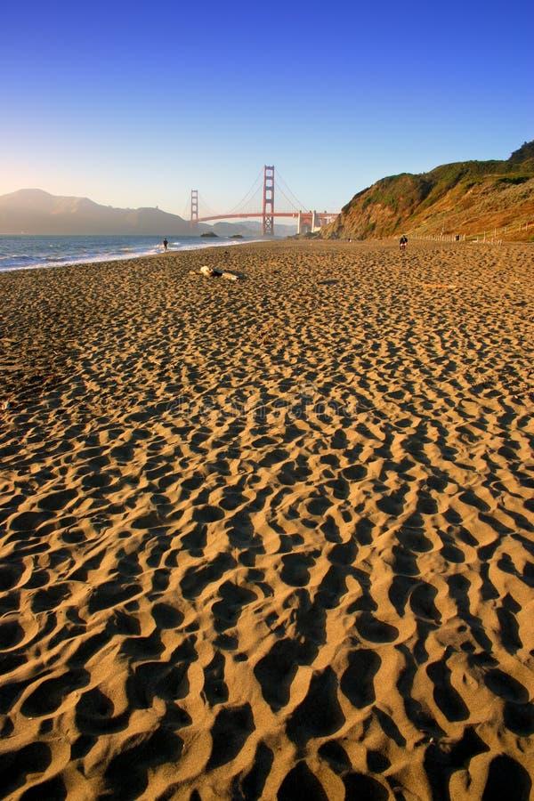 Plage de Baker, San Francisco photographie stock