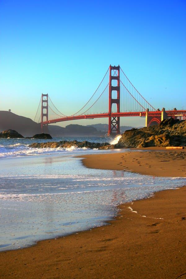 Plage de Baker, San Francisco image libre de droits
