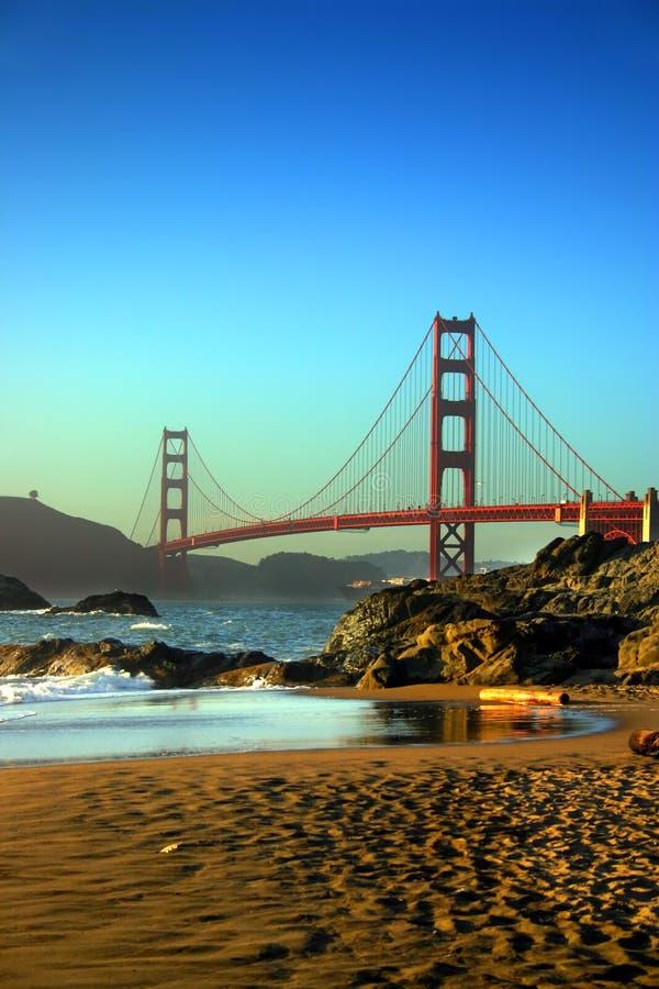 Plage de Baker, San Francisco photographie stock libre de droits