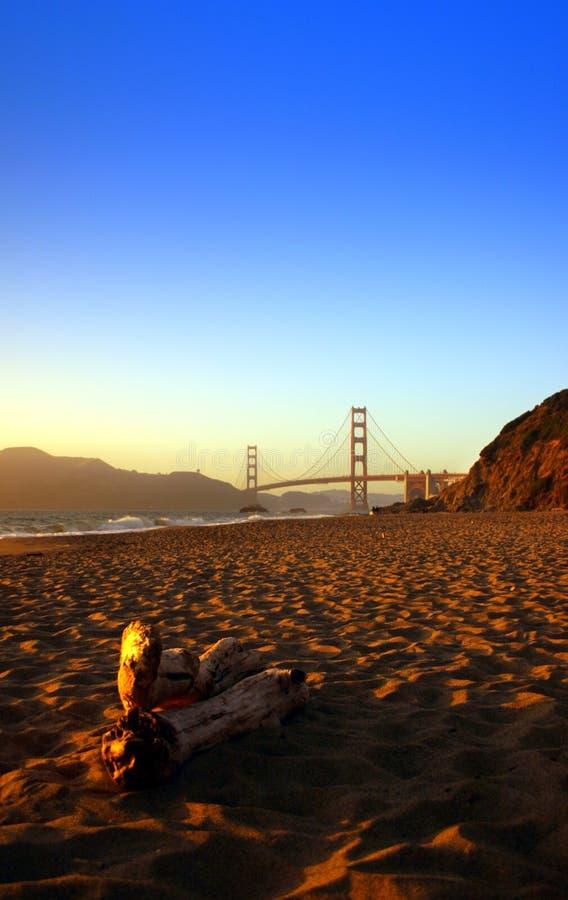 Plage de Baker, San Francisco photos stock