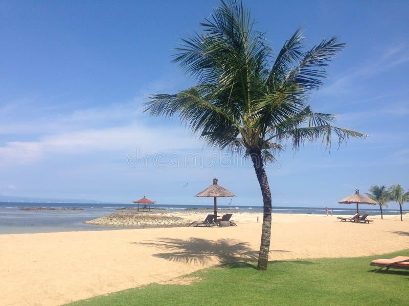Plage de Bali photos stock