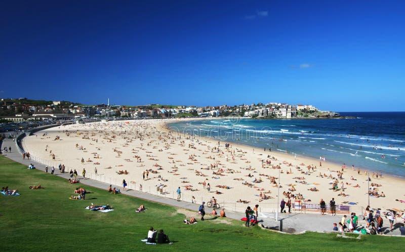Plage de Bondi à Sydney, Australie image stock
