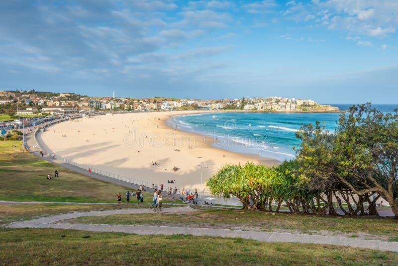 Plage de Bondi, Sydney Australia photos libres de droits