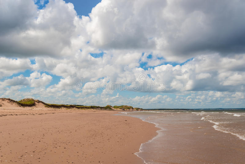 Plage de Brackley photographie stock