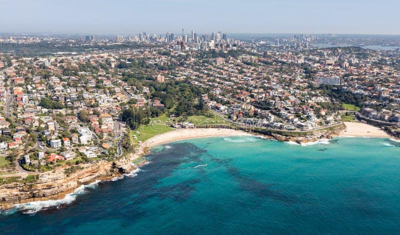 Plage de Bronte et de Tamarama - Sydney Australia images stock