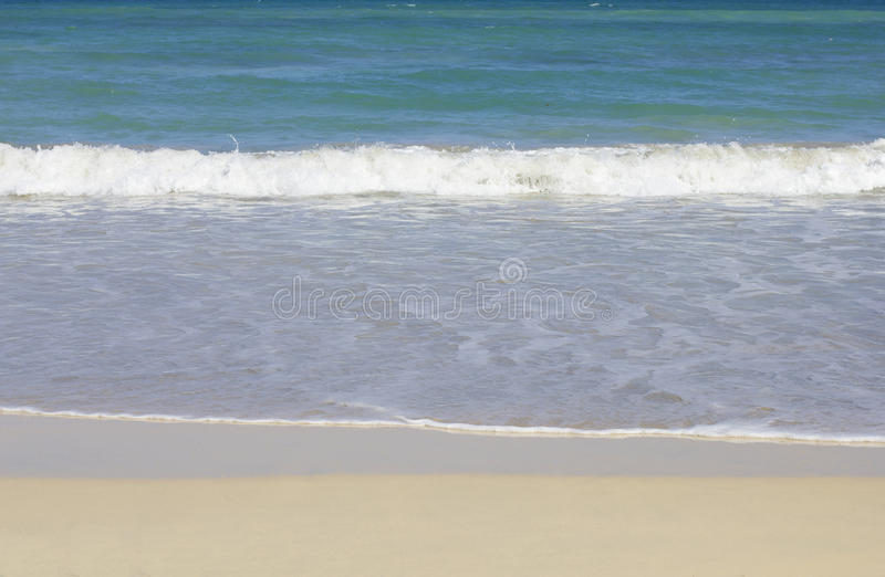 Plage de cana de Punta photo libre de droits