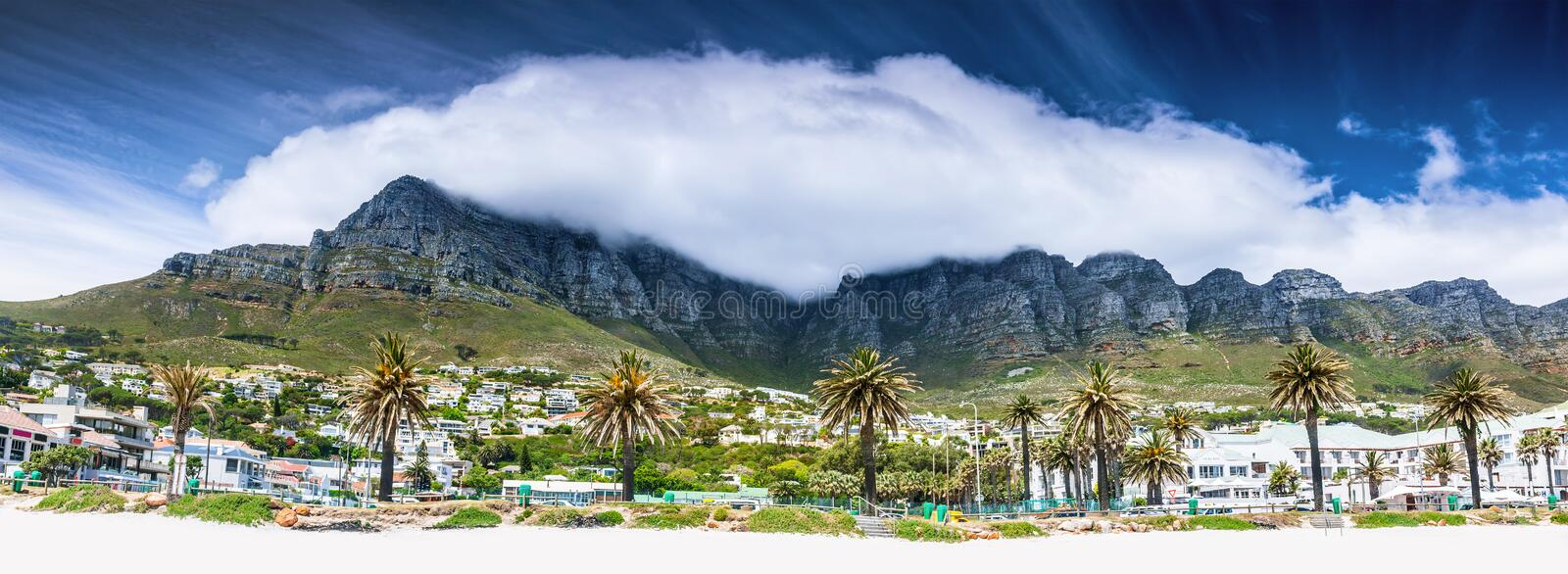 Plage de Cape Town images stock