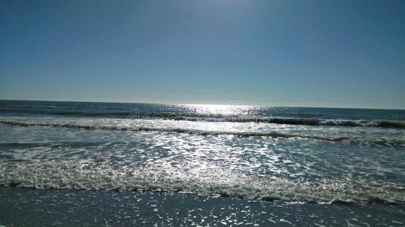 Plage de Clearwater photos libres de droits