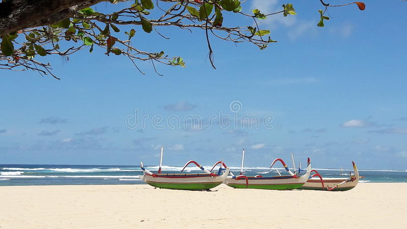 Plage de DUA de Nusa photo stock