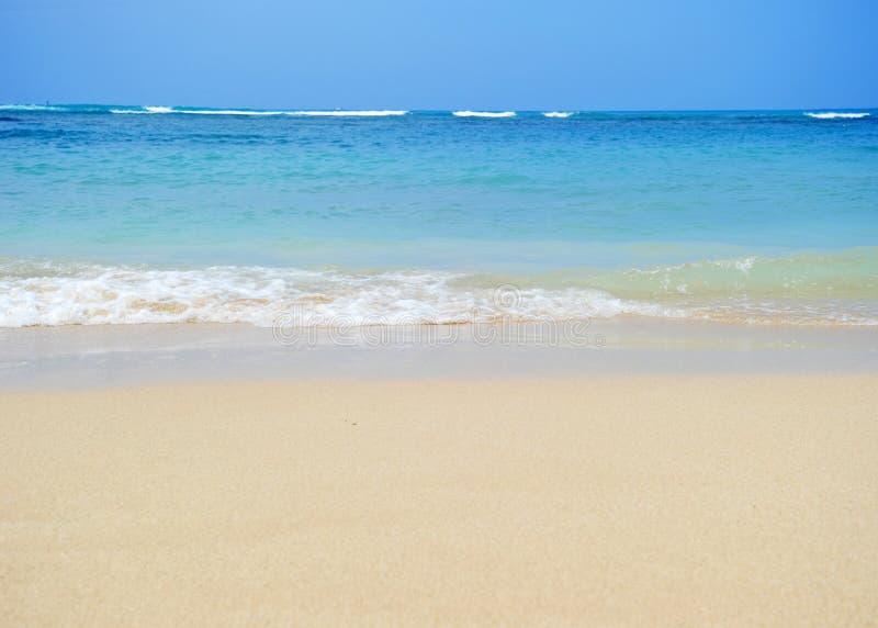 Plage de Honolulu images stock