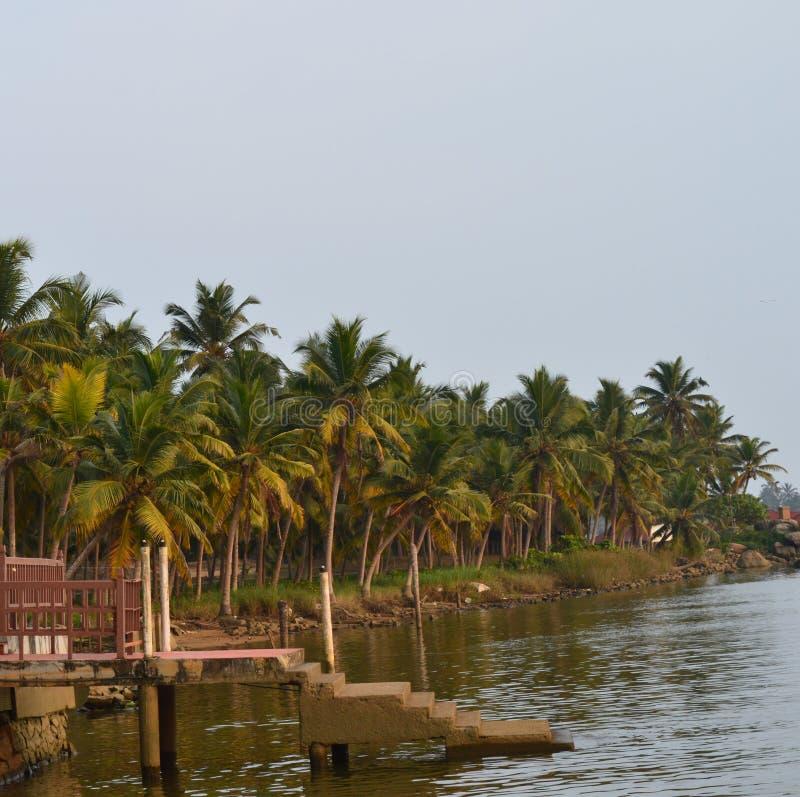 Plage de Kovalam - Kerala images stock