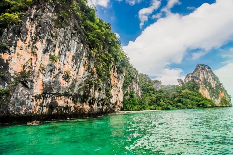 Plage de Krabi, Thaïlande images libres de droits
