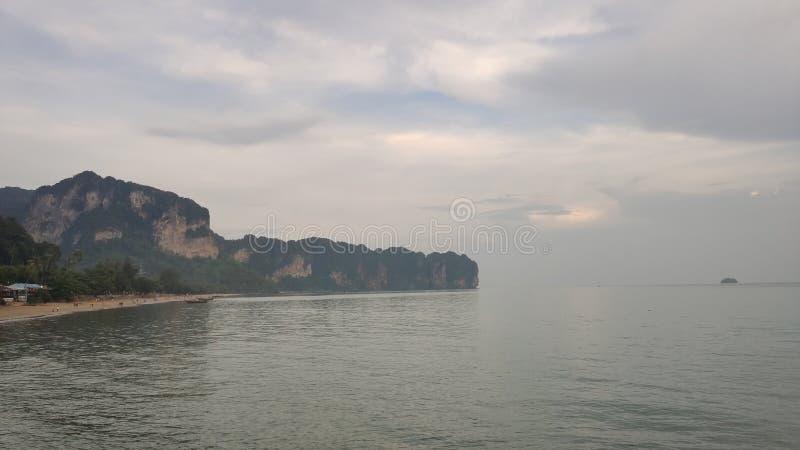 plage de krabi thailand images libres de droits