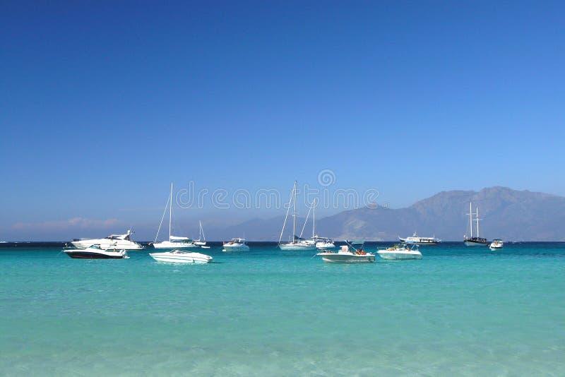 Plage de la Corse image stock