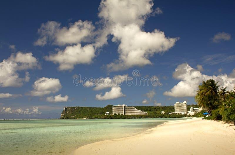 Plage de la Guam image libre de droits
