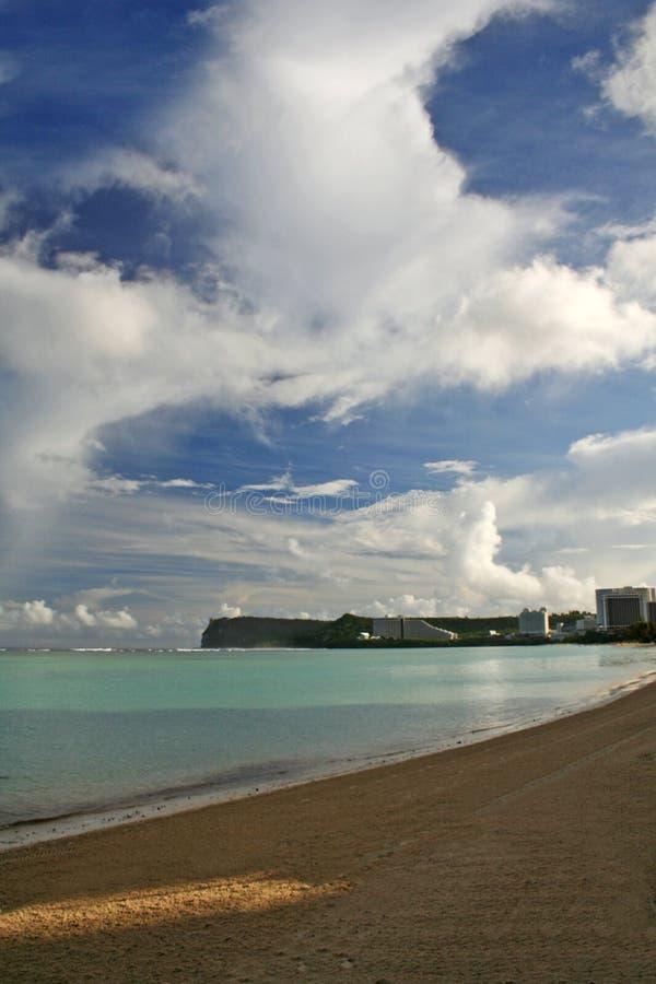 Plage de la Guam photographie stock libre de droits