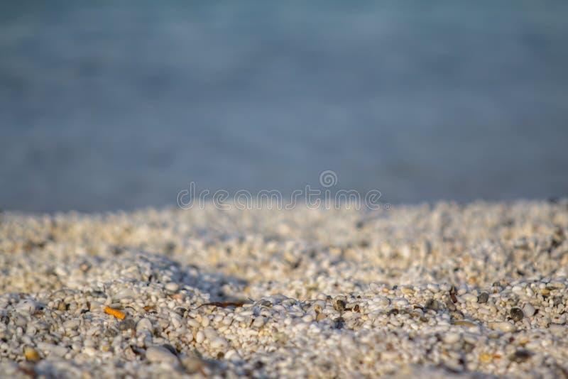 Plage de Le Saline en Sardaigne photographie stock libre de droits