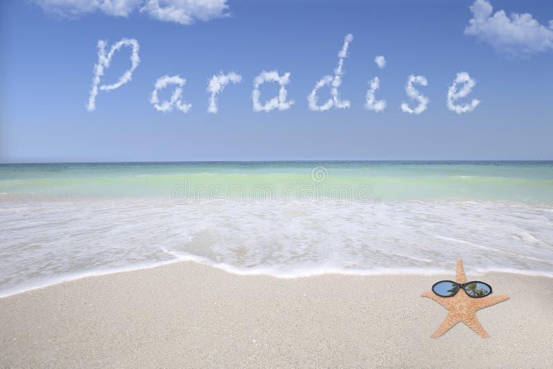 Plage de paradis photos stock