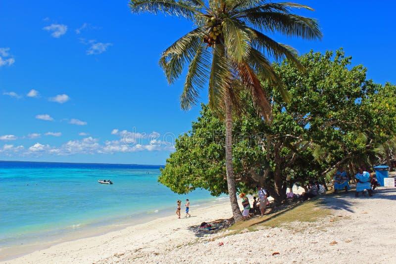 Download Plage De Paradis En île De Lifou, Nouvelle-Calédonie, South Pacific Photo stock éditorial - Image du chaud, postcard: 45356218