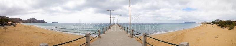 Plage de Porto Santo photographie stock