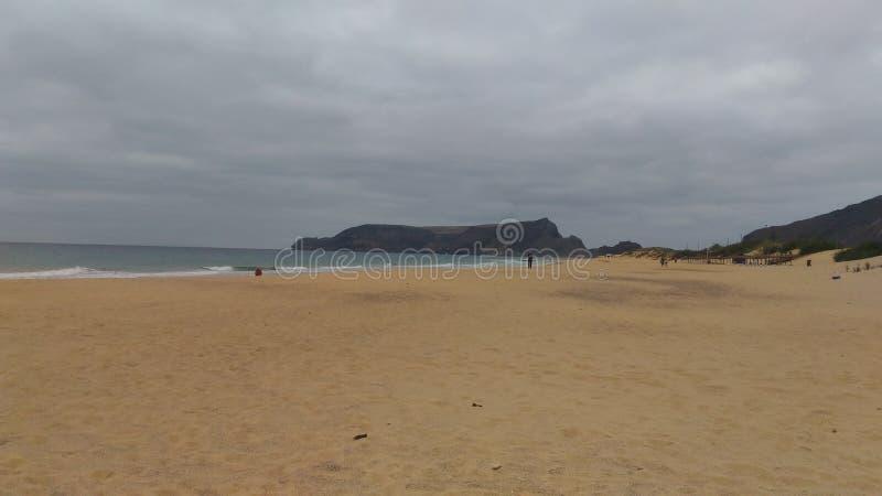 Plage de Porto Santo photos libres de droits