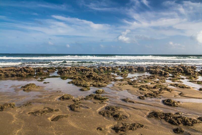 Plage de récif de Bathub en Floride image libre de droits