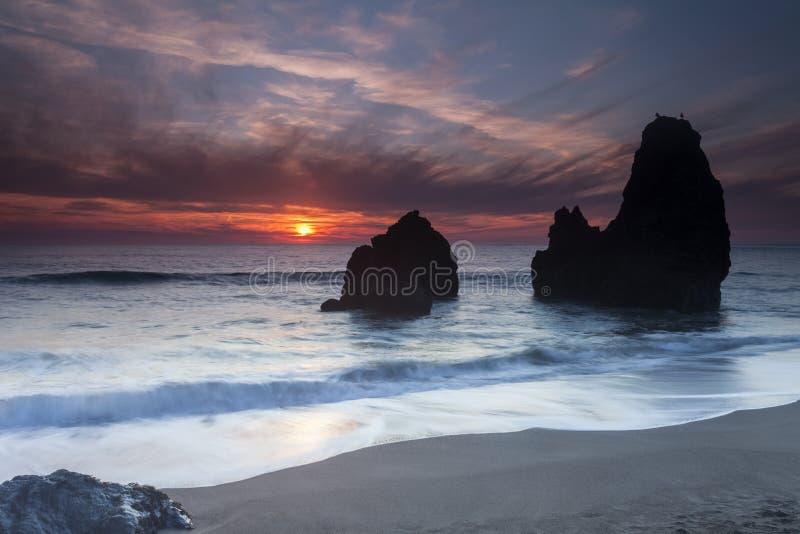 Plage de rodéo - Marin Headlands images libres de droits