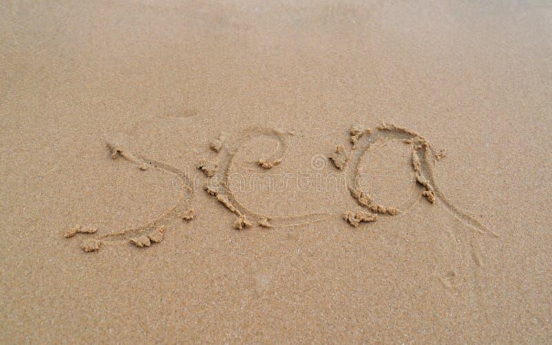 Plage de sable images stock