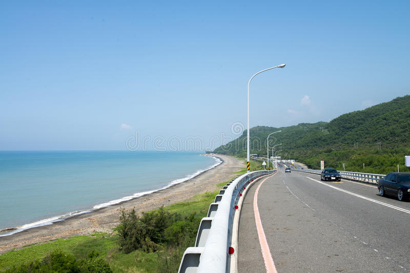 Plage de Taiwan images stock