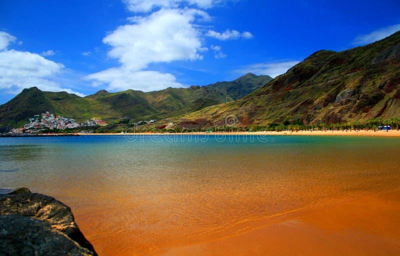 Plage de Tenerife photos libres de droits