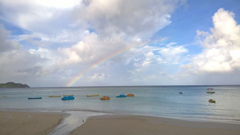 Plage de Tumon, Guam, Etats-Unis images libres de droits