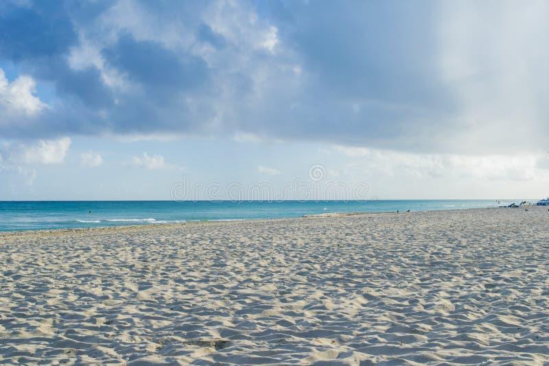 Plage de Varadero au Cuba, mon petit paradis dans le monde images stock