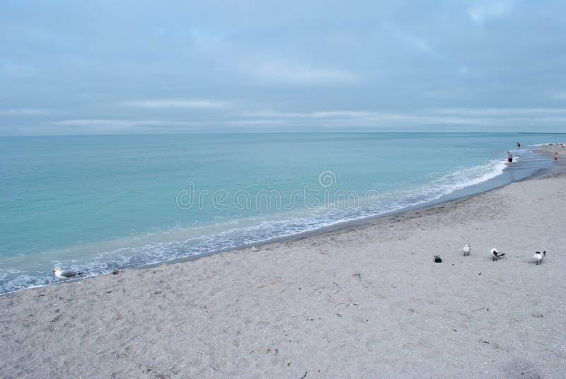 Plage de Venise, la Floride image stock