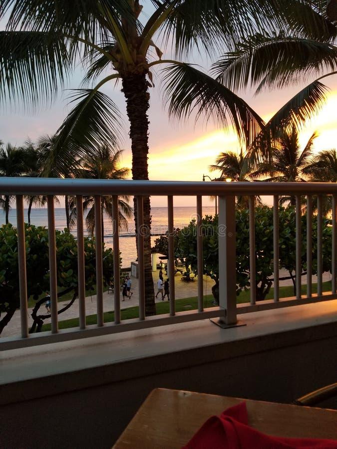 Plage de Waikiki images stock