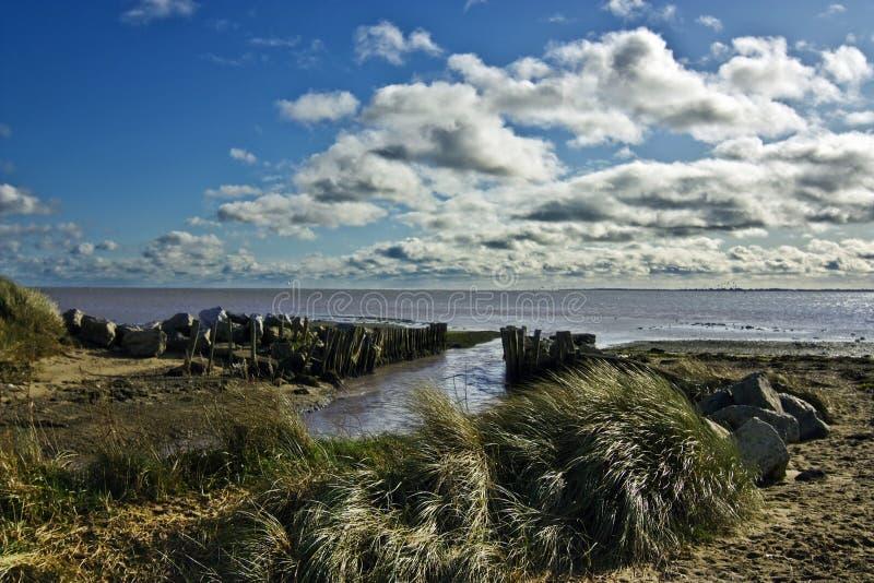 Plage de Wexford image libre de droits