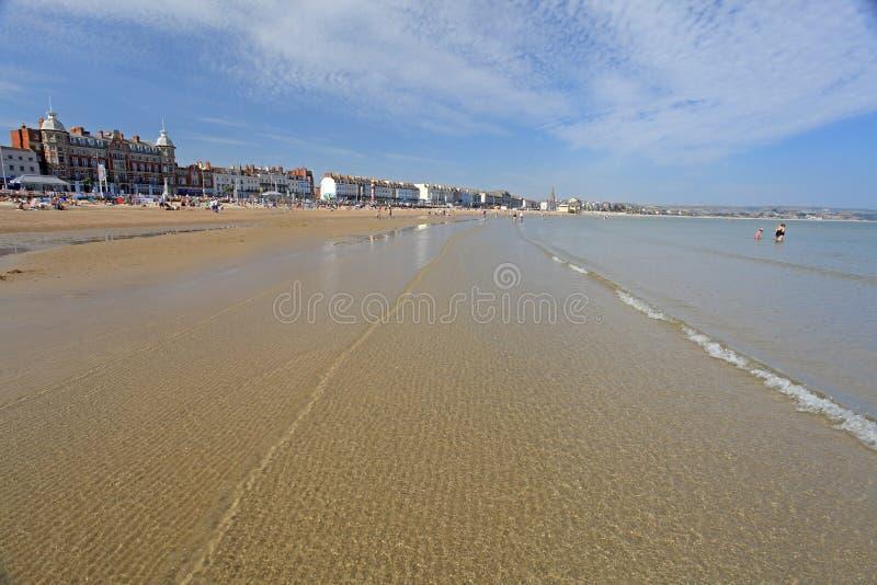 Plage de Weymouth photos stock