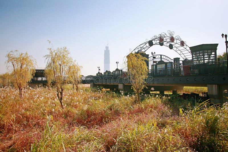 Plage de Wuhan Wuchang image stock
