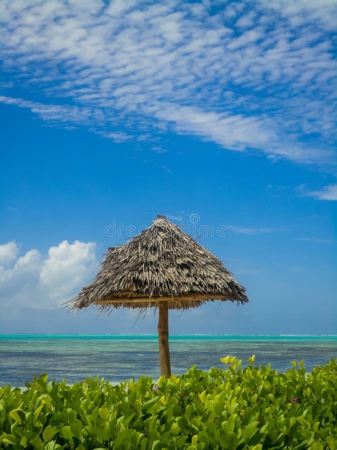 Plage de Zanzibar photos stock