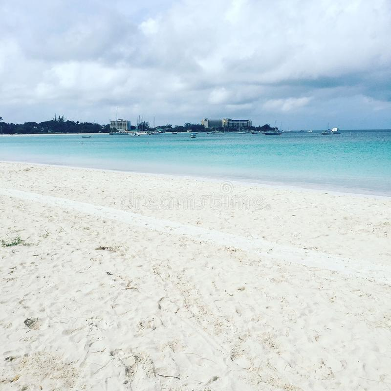 Plage des Barbade photo libre de droits