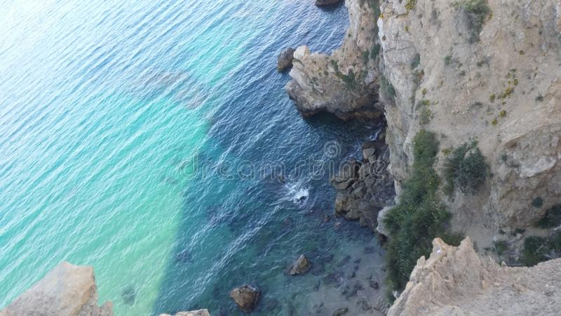 plage du Maroc image stock