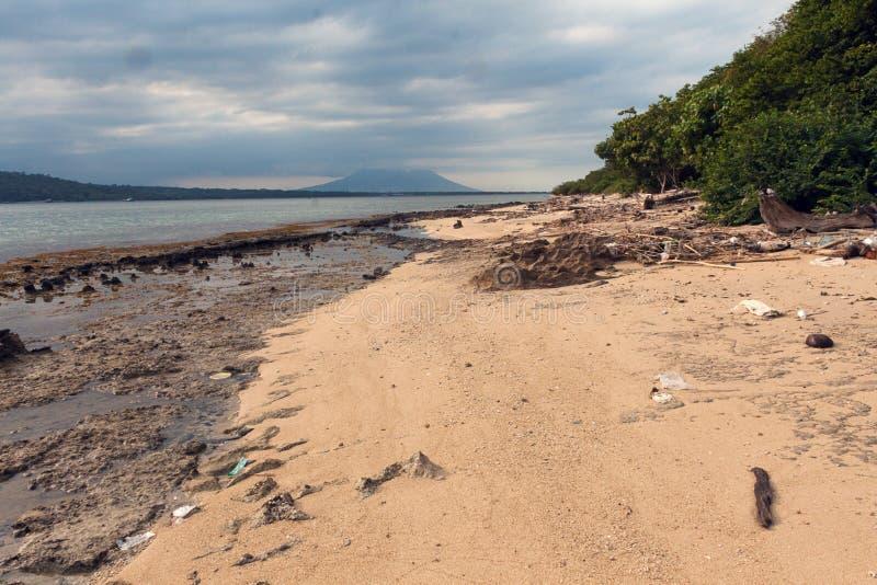 Plage du parc occidental national dans Bali images libres de droits