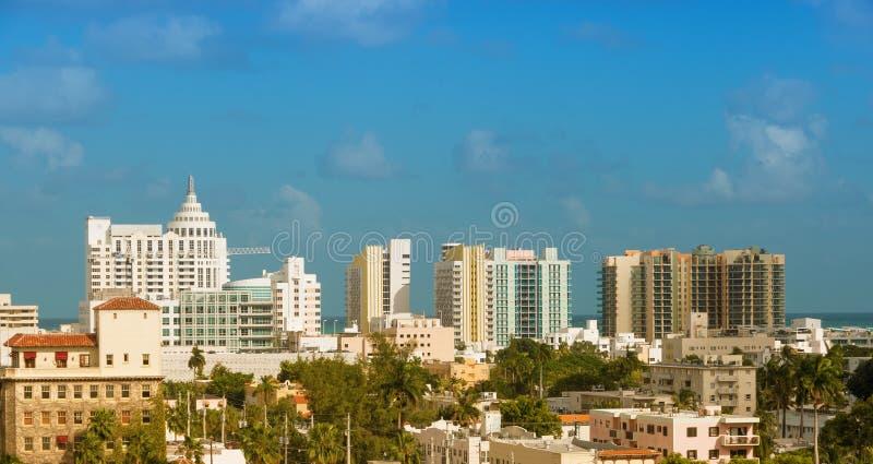 Plage du sud, Miami Beach, FL photo libre de droits