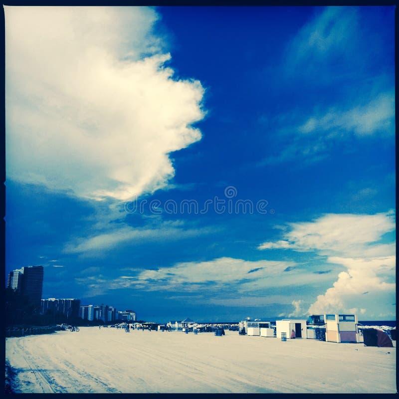 Plage du sud, Miami, Etats-Unis photographie stock