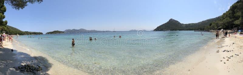 Plage en Palma de Mallorca photo libre de droits